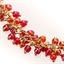 Parure collier/bracelet perles