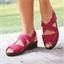 Sandales ajustables