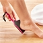Râpe incurvée pour pieds rose