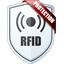 Sac jean brodé RFID
