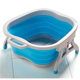 Bain de pieds pliable