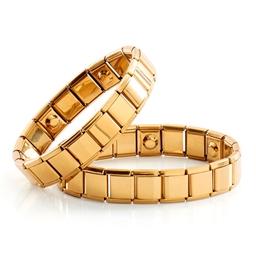 Bracelet magnétique doré Modèle femme ou homme