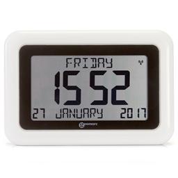 Horloge calendrier radio-pilotée