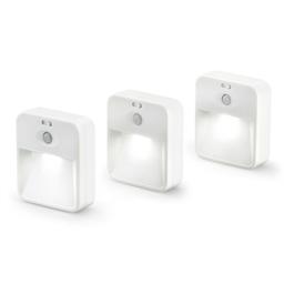 Lot 3 lampes LED détecteur