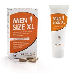 Men size XL - 60 gélules ou crème 75 ml