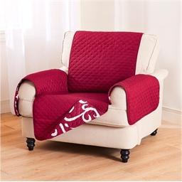 Couvre-fauteuil/sofa réversible
