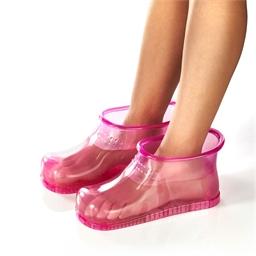 Bain de pieds rose