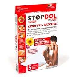 """Lot de 5 patchs """"Stopdol"""""""