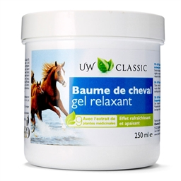 Gel relaxant baume de cheval