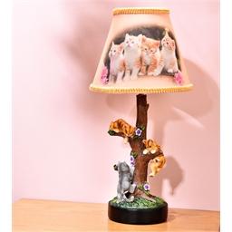 Lampe de chevet chatons grimpeurs
