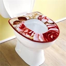 Galette WC roses
