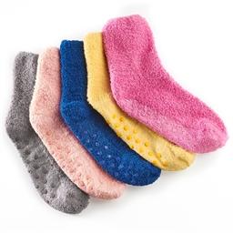 Lot de 5 paires de chaussettes antidérapantes