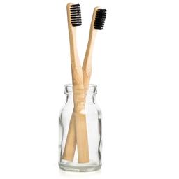 Lot de 2 brosses à dents bambou