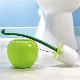 Brosse WC Pomme verte ou Cerise