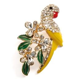 Broche perroquet