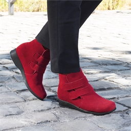 """Bottines """"Camille"""" Rouge - taille 36"""