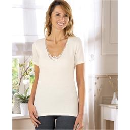 Tee-shirt chaleur Blanc