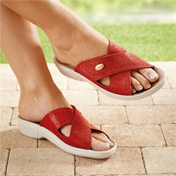 Mules scratch Rouge - taille 36