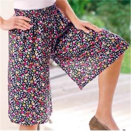 Jupe-culotte fleurie Imprimé - taille M