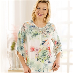 Blouse tropicale - taille M