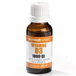 Vitamine D3 naturelle