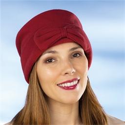 Bonnet polaire rouge ou noir