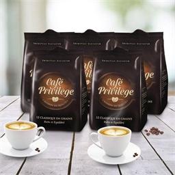 2.5kg de café en grains classique (5 paquets de 500g)