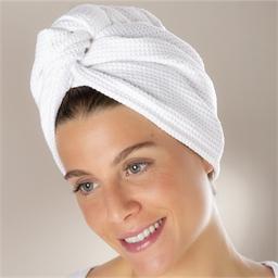 Turban sèche-cheveux microfibre