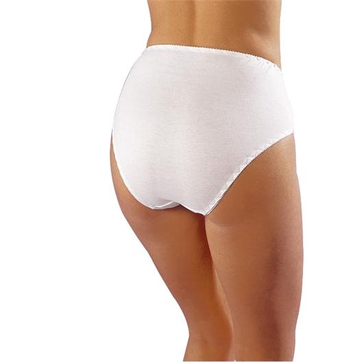 5 culottes blanches ou noires en coton