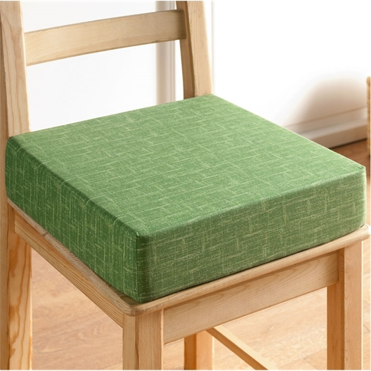 Coussin rehausseur carré Vert