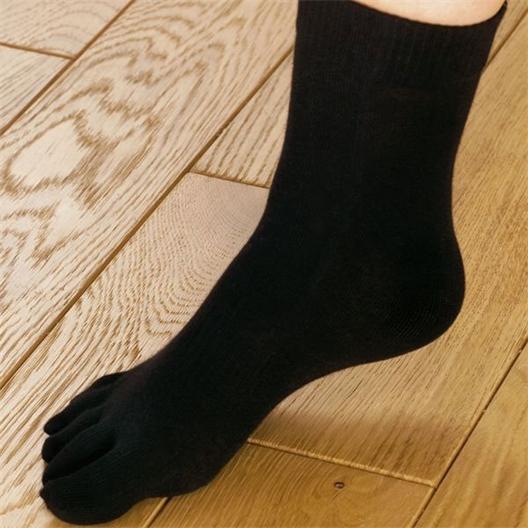 Chaussettes avec doigts Noir