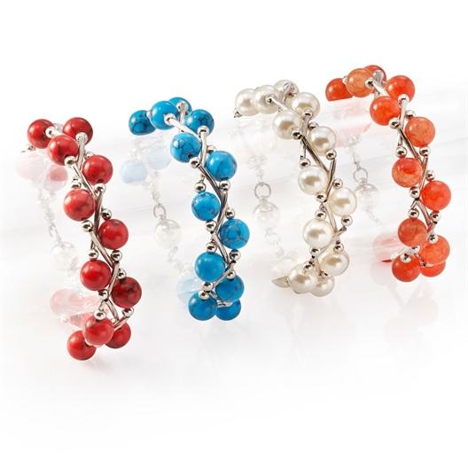 Lot de 4 bracelets fermeture magnétique