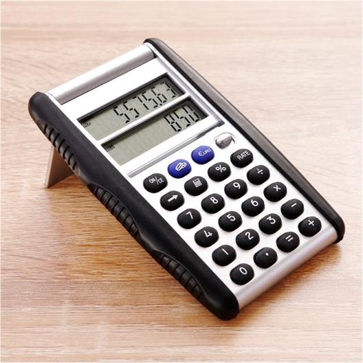 Calculatrice de poche euro