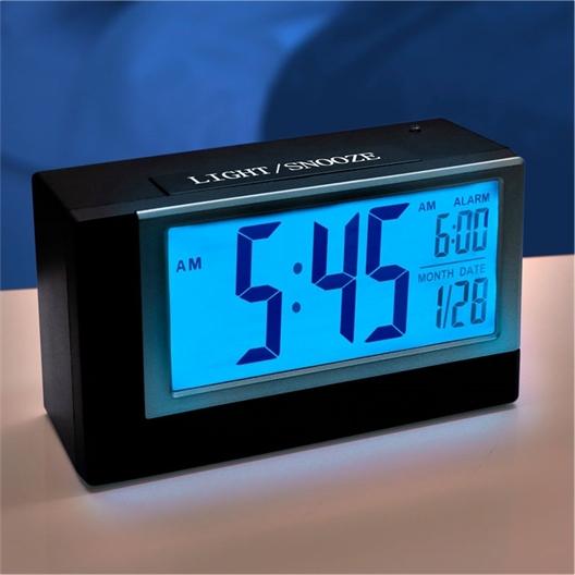 Réveil radio piloté affichage heure / réveil