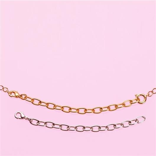 2 chaînes rallonge collier