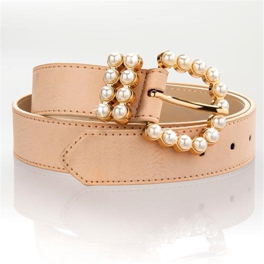 Ceinture boucle perles