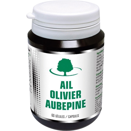 Ail, olivier, aubépine