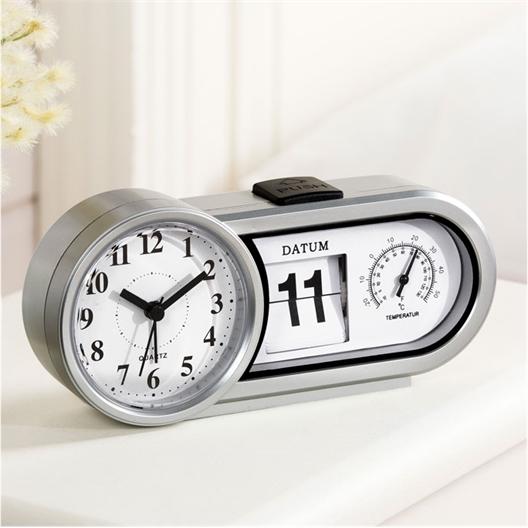 Réveil avec date et température