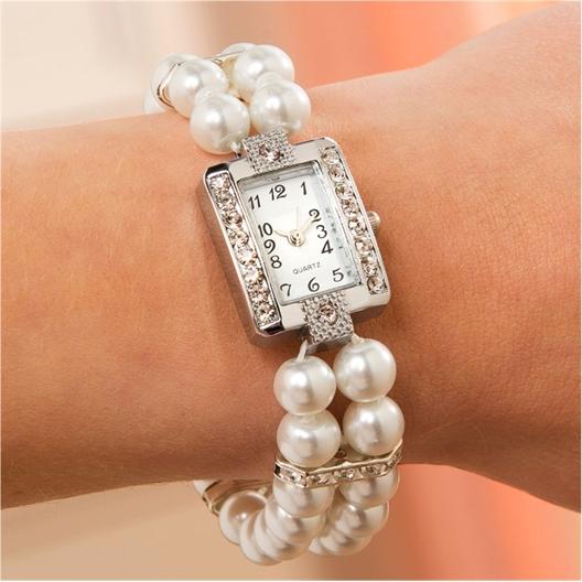 Montre bracelet perles