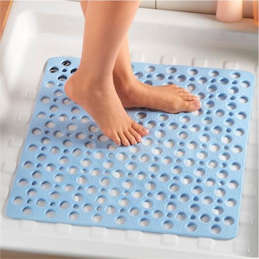 Tapis massage bleu Baignoire ou Douche
