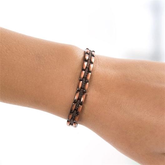 Bracelet magnétique cuivre : Homme ou Femme