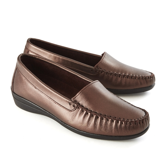 """Mocassins """"Claudia"""" Plomb - taille 40"""