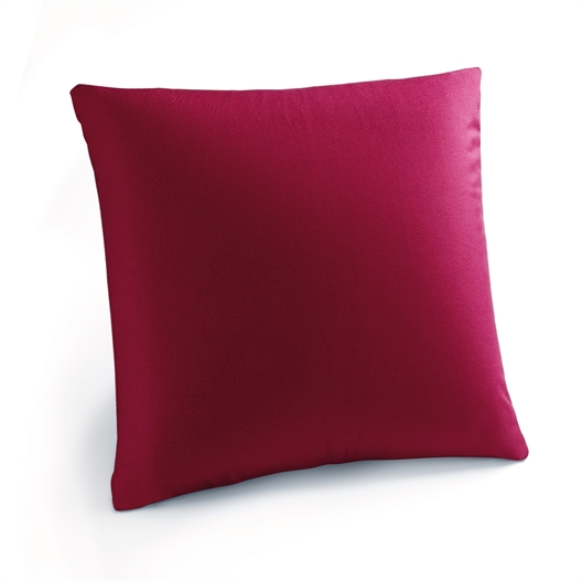 """Coussin vibrant """"Touch"""" rouge"""
