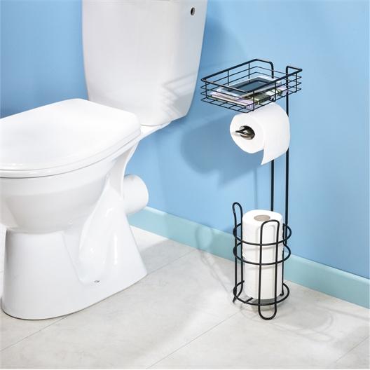 Dérouleur papier WC avec tablette