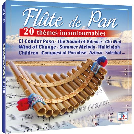 Cd flute de pan 20 themes incontournable