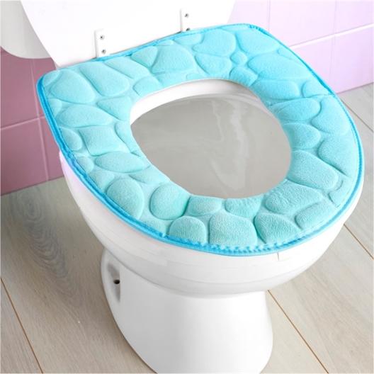 Galette WC mémoire de forme galets