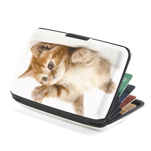 Porte-cartes chaton