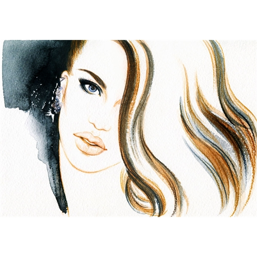 Feutre de maquillage semi-permanent : brun, marron ou noir