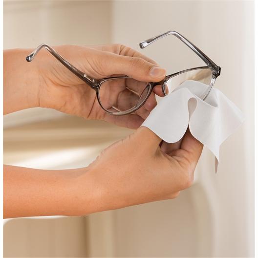 Lingette anti-buée pour lunettes