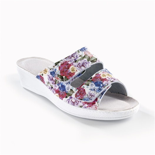 Mules fleuries - taille 39